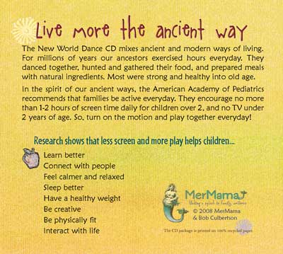 mermama cd live more the ancient ways